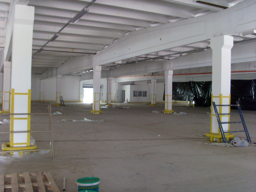 2nd Stage Renovation Project of the Warehouse Belonging to Agricultural and Industrial Enterprise